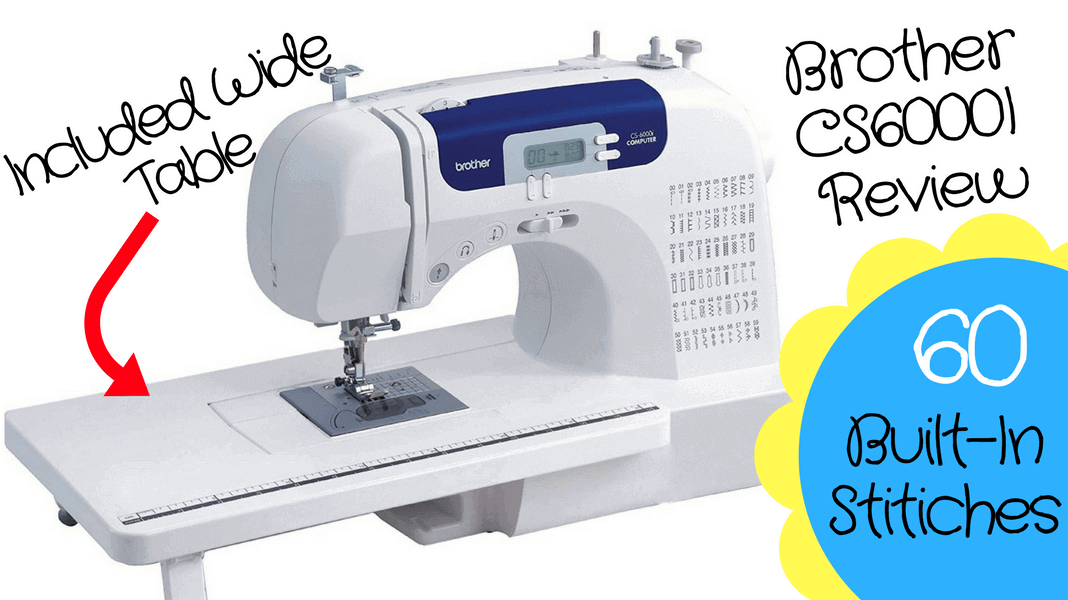 Brother CS40i Sewing Machine Review Is It A Good Buy Stunning Brother Sewing Machine Cs 6000