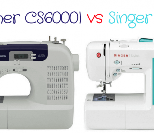 Brother CS6000I VS Singer 7258