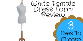 White Female Dress Form