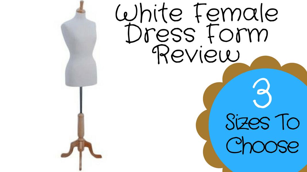 White Female Dress Form