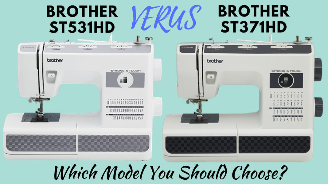 Brother ST531HD vs Brother ST371HD