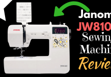 Janome JW8100 Sewing Machine Review