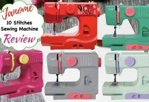 Janome 10 Stitches Sewing Machine Review