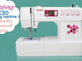 Janome C30 Sewing Machine Review