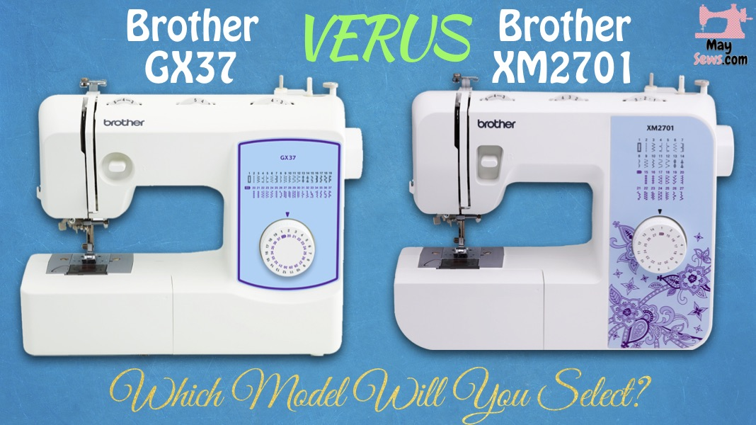 Brother GX37 VS XM2701