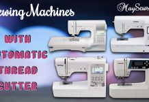 Sewing Machines With Automatic Thread Cutter