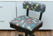 Sewing Machine Chair With Storage