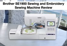 Brother SE1900 Sewing and Embroidery Machine Review