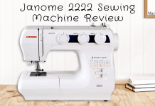 Janome 2222 Sewing Machine Review