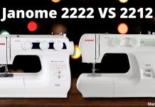 Janome 2222 VS 2212