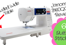 Janome 3160QOV Sewing Machine Reviews